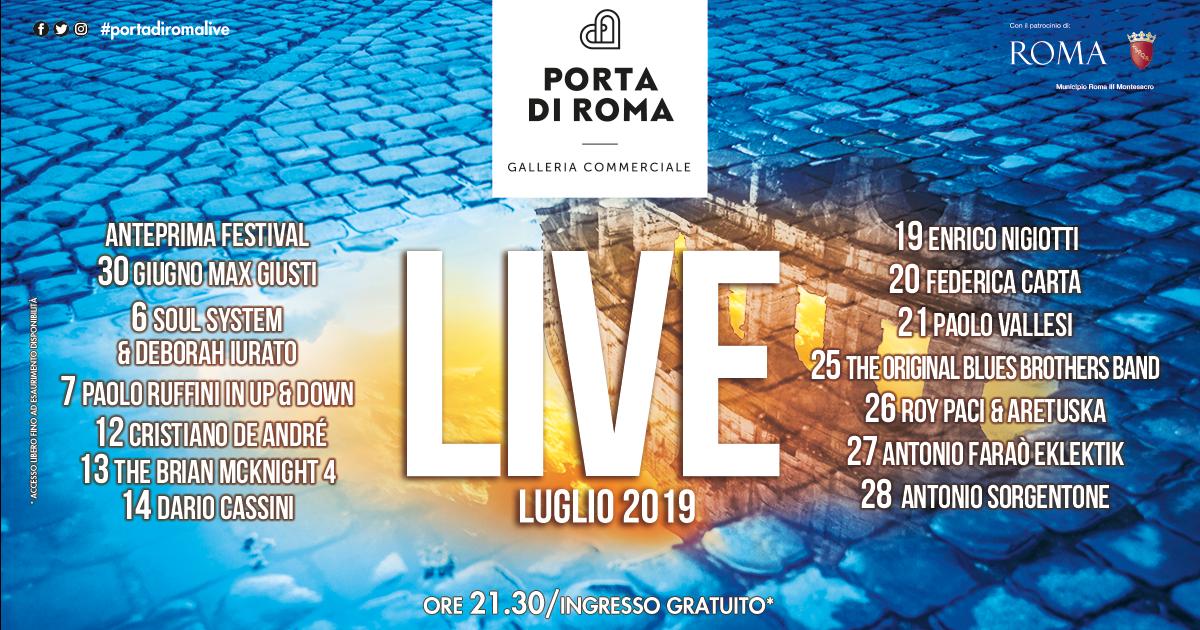 b4e875bdec1 Dimensione Suono Roma a Porta di Roma Live 2019 – Dimensione Suono Roma