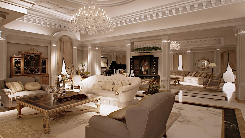 A roma puoi noleggiare una casa a 5 stelle for Casa di lusso interni