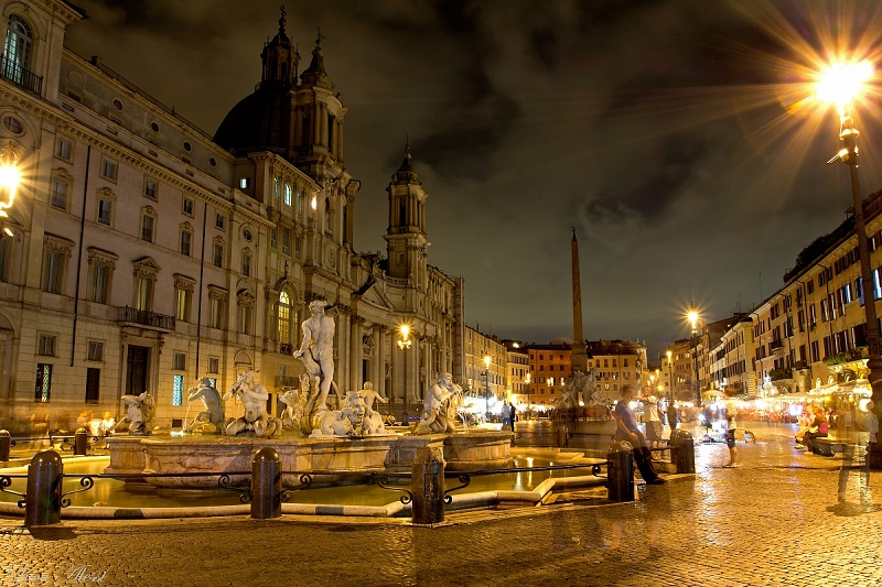 Roma cambierà volto dopo il tramonto nuova illuminazione notturna