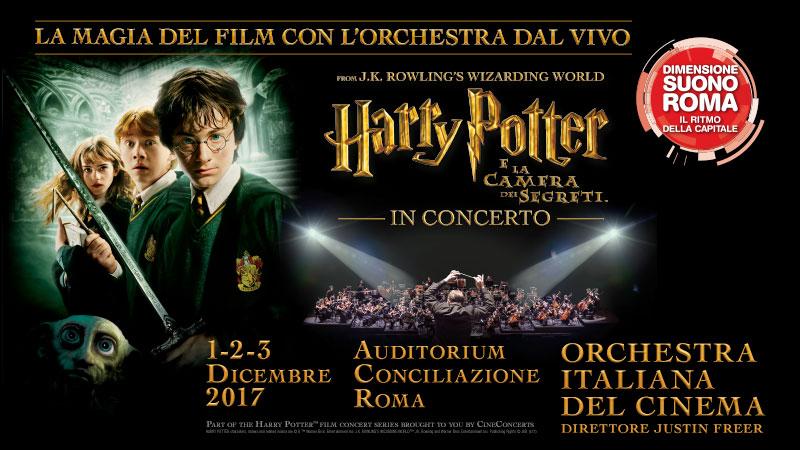 Harry Potter Camera Dei Segreti : Harry potter e la camera dei segreti u dimensione suono roma