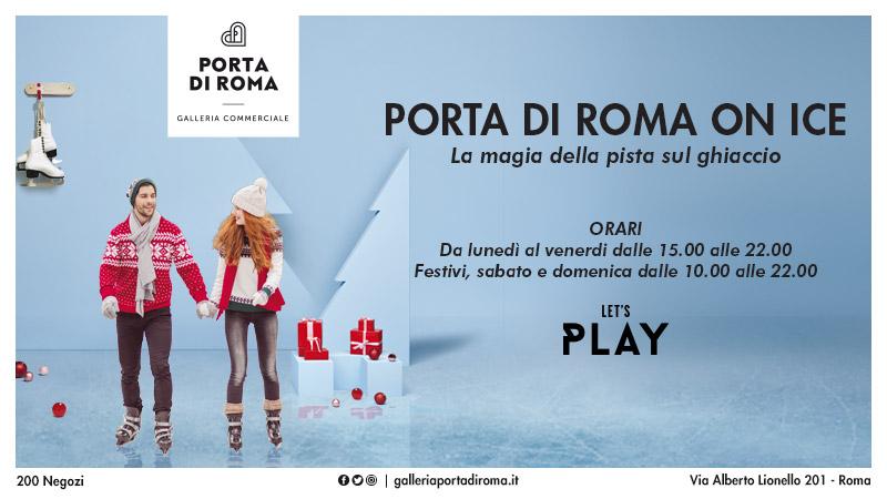 Dimensione suono roma a porta di roma on ice dimensione - Porta che sbatte suono ...