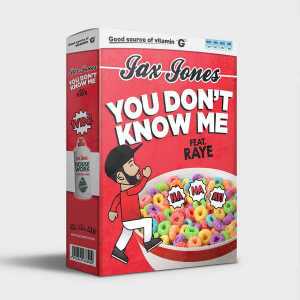 YOU DON'T KNOW ME - JAX JONES RAYE