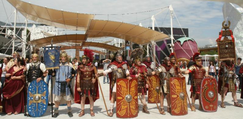 Expo gli antichi romani sfilano a milano for Secondi romani