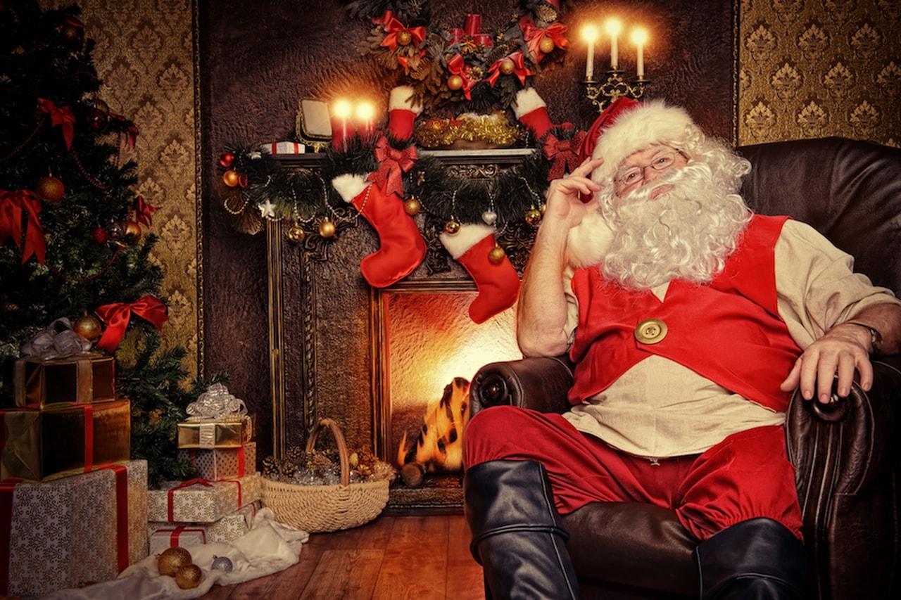 Babbo Natale In Casa.A Che Ora Passa Babbo Natale A Roma Dimensione Suono Roma
