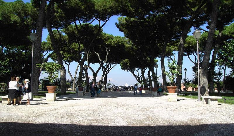 Il giardino degli aranci torna a splendere dimensione suono roma - Il giardino degli etruschi ...