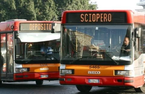 48361: (Fabio Frustaci/EIDON) 2004-10-22 Roma -  - Sciopero trasporti -