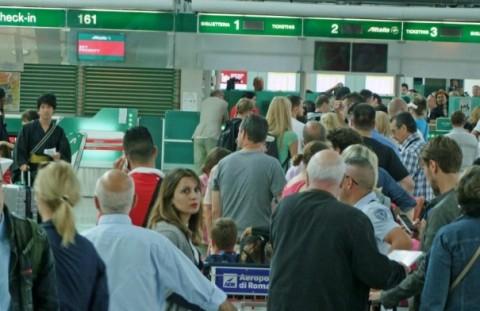 sciopero aeroporto fiumicino